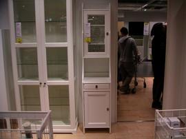 IKEA,食器戸棚,キャビネット,FLAREN